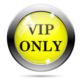 VIP only icon — Stock Photo