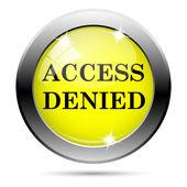 Acceso denegado icono — Foto de Stock