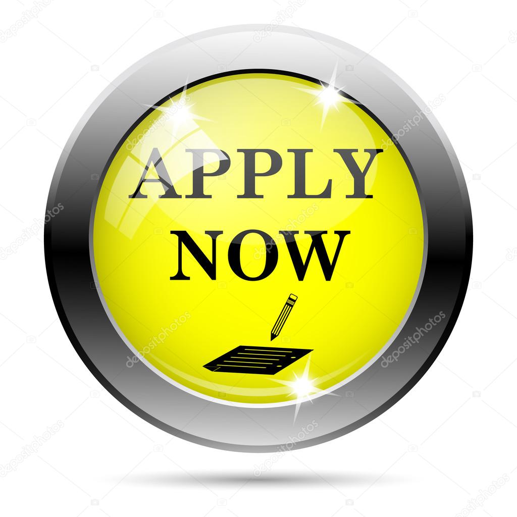 Apply Online Icon Apply Now Stock Image Icon