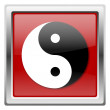Ying yang icon — Stock Photo