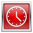 Clock icon — Foto Stock #32031385