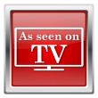 As seen on TV icon — Stock Photo #32031625