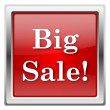 Big sale icon — Stock Photo
