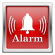 Alarm icon — Stock Photo #32031921