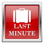 Last minute ikona — Stock fotografie #32032027