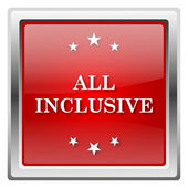 All inclusive icon — Foto Stock