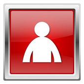 User profile icon — Stock Photo