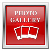 Photo gallery icon — Foto de Stock