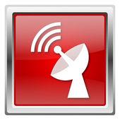 ワイヤレス アンテナのアイコン — ストック写真