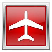 Ikony samolotem — Zdjęcie stockowe
