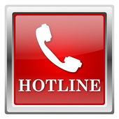 Hotline icon — 图库照片