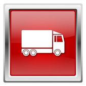 Ciężarówka ikona — Zdjęcie stockowe
