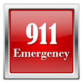 911 Emergency icon — Stock Photo