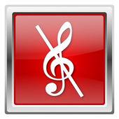 Nutka - nie ikonę dźwięku — Zdjęcie stockowe