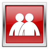 Forum ikona — Zdjęcie stockowe