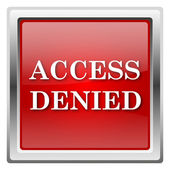 Access denied icon — Stockfoto