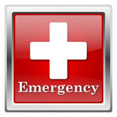 Emergency icon — Stock Photo