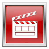 Movie icon — Foto de Stock