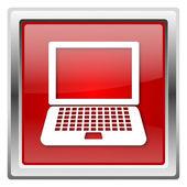 Dizüstü bilgisayar simgesi — Stok fotoğraf