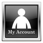 Mój ikony konta — Zdjęcie stockowe