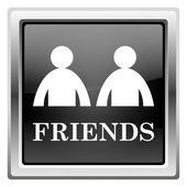Przyjaciele ikona — Zdjęcie stockowe