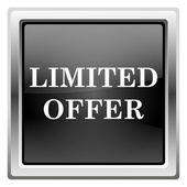 Ikona ograniczoną ofertą — Zdjęcie stockowe