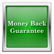 Stock Photo: Money back guarantee icon