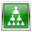 Stock Photo: Organizational chart with people icon