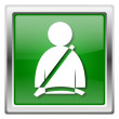 Stockfoto: Safety belt icon