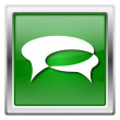 Chat bubbles icon — Stockfoto #32554129