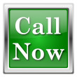 Call now icon — Stock Photo