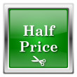 Stock Photo: Half price icon