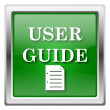 Stock Photo: User guide icon