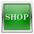 Stock Photo: Shop icon