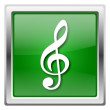 Stock Photo: Musical note icon