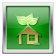 Eco house icon — 图库照片 #32554683