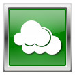 Stock Photo: Clouds icon