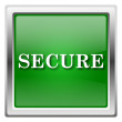 Stock Photo: Secure icon