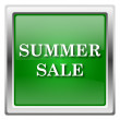 Stock Photo: Summer sale icon