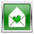 Send love icon — Stockfoto #32555067