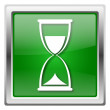 Hourglass icon — Foto Stock