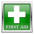 First aid icon — Foto de stock #32555307