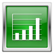 Chart bars icon — Foto Stock #32555423