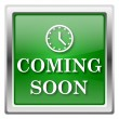 Coming soon icon — Stok Fotoğraf #32555745