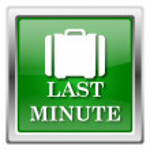 Last minute ikona — Stock fotografie #32555941