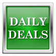 Daily deals icon — Stock Photo