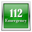 112 Emergency icon — Stock fotografie #32556995
