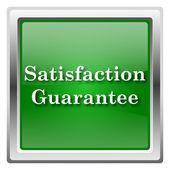 Icono de garantía de satisfacción — Foto de Stock