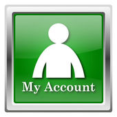 My account icon — Stock Photo