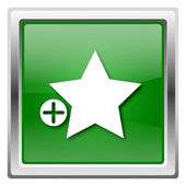 Add to favorites icon — Stock Photo